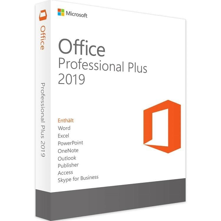 microsoft office professional 2019 vs home and business